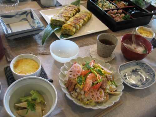 春のお寿司