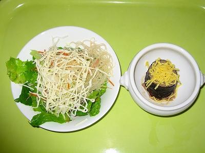 サラダとそば寿司 ロマネスクH19.7.8