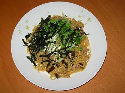 和風きのこスパゲティー