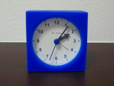 目覚まし時計H19.9.7