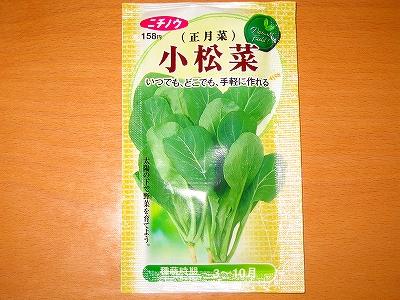 小松菜H19.11.17
