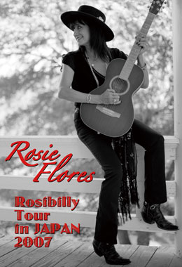 Rosie Flores Rosibilly Tour in Japan 2007