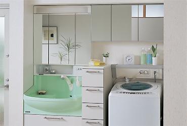 クリナップ - 洗面化粧台 - ファンシオ - イメージギャラリー