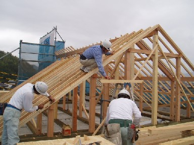 屋根組み(5)1009UP3C