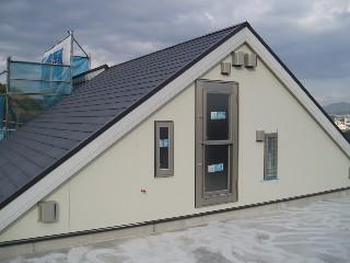 屋上サイディング貼り終了1011UP2C