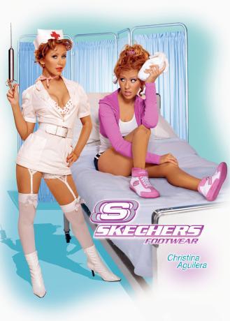 Skechersのコスプレアギちゃん