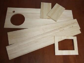 キッチン木材1