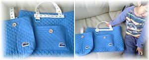 20070130絵本袋と上履き入れ
