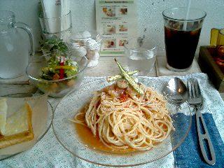 AIDA with CAFE  パスタランチ