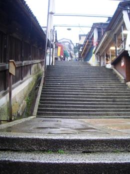 金比羅神宮のの階段