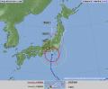 台風第9号