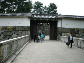 061202名古屋城門