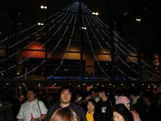 070128 横浜アリーナ夜公演後