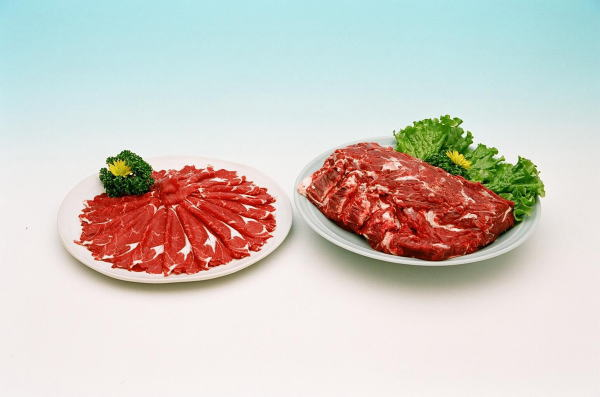 エゾシカ肉肩ロース・エゾシカ肉カルビー