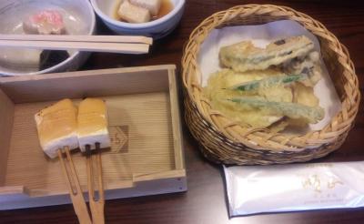 田楽と天ぷら