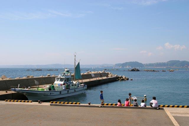 真名瀬漁港2