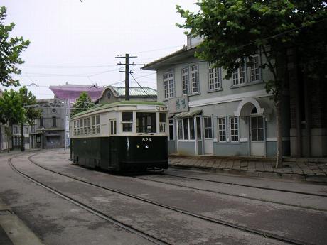 路面電車です。