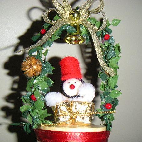 クリスマスアーチツリー。