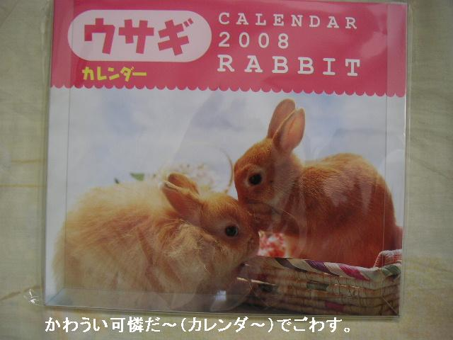 うさぎさんカレンダー♪