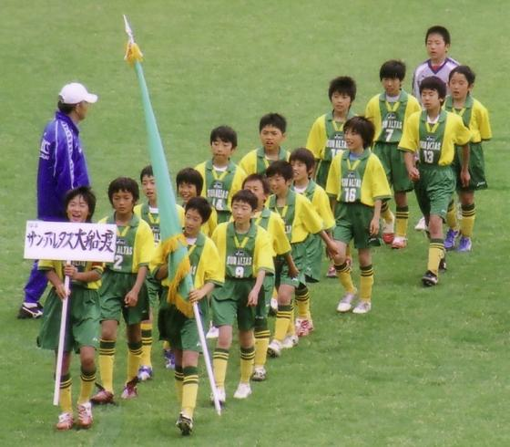 第31回 全日本少年サッカー岩手県大会_入場行進