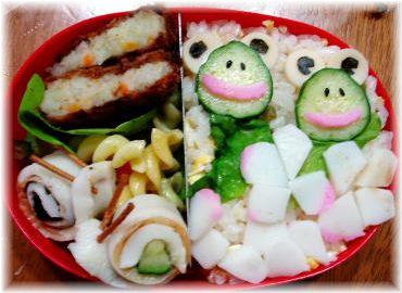 カエルちゃんお弁当