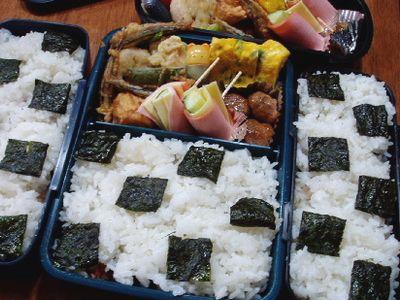 キビナゴの天ぷら弁当