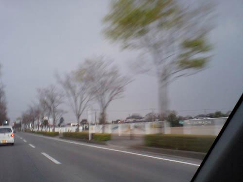 家の方向の雲が…