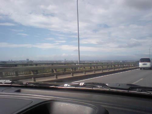 天気:晴れ、ドライブにはもってこいの一日。