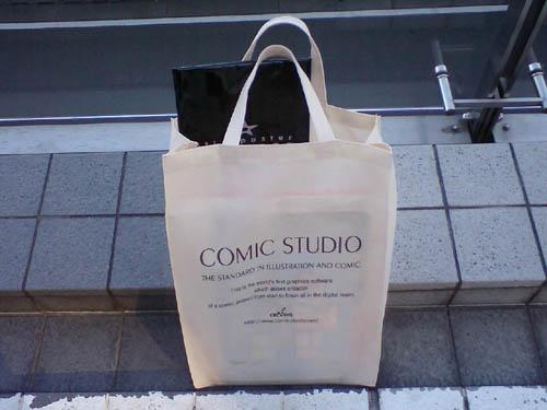 comic studioのトート。シンプルイズベストな一品w