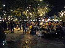 thai 公園の夜マーケット