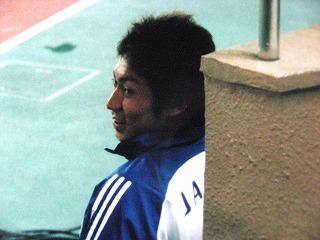 2003 梶山(壮行試合にて)