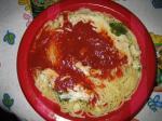 三つ星パスタ「南イタリア産完熟トマトととろけるチーズ」