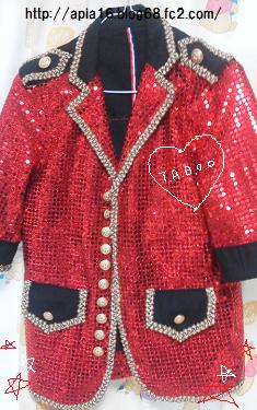 TABOOジャケット あとすこし!!!