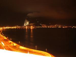 ジブラルタルの夜景