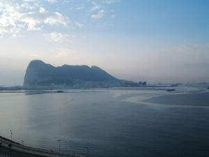 ジブラルタル遠景