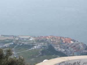 ジブラルタルの街並