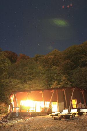 071025白川湖畔ロッジ夜景