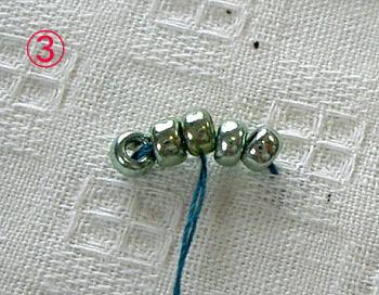 ビーズ刺繍3