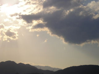 雲・雲・雲・・・。