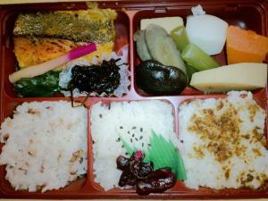 2011.04.27明治座 西京焼き弁当