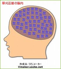 草刈正雄の脳内