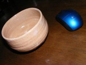 茶器と マウス