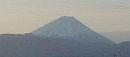 MTBコースからの朝の富士遠望