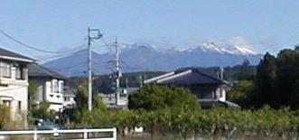 残雪の赤岳