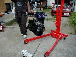 ハチロクのニューエンジン