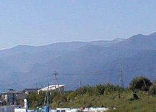冠雪の北岳