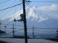 富士山1月30日