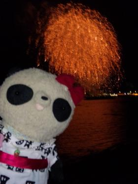 ペリー祭2011フィナーレの花火