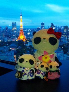 七夕の東京タワー