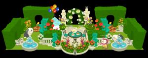 イングリッシュでティーな庭、、、ちょっとくどいかな??
